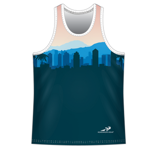 Run With Gina Cityscape ELITE Performance Singlet *PREORDER*