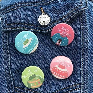 Sweater Weather Pin Set - Only 2.99 - Grab Yours Before They Are GONE!