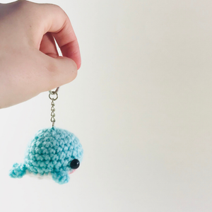 Moosh Moosh The Whale Key Chain