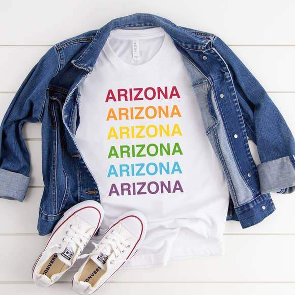 YOUR Rainbow Tee YOUR Way!
