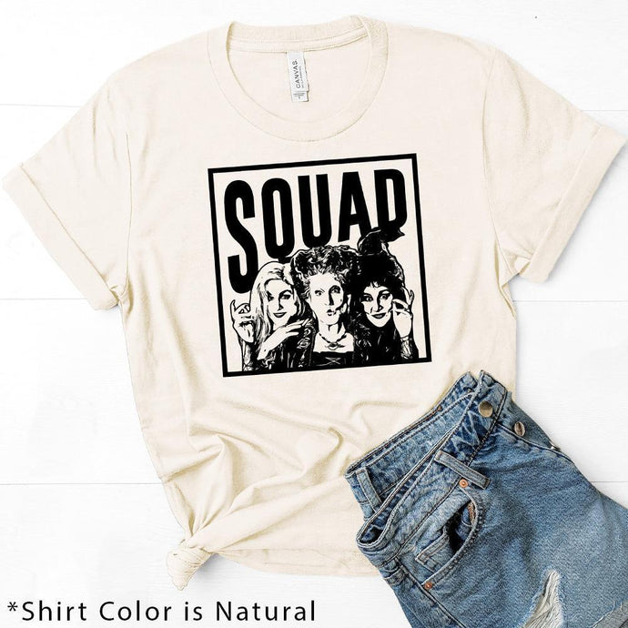 SQUAD - Our Favorite Halloween Tees! See Them All!