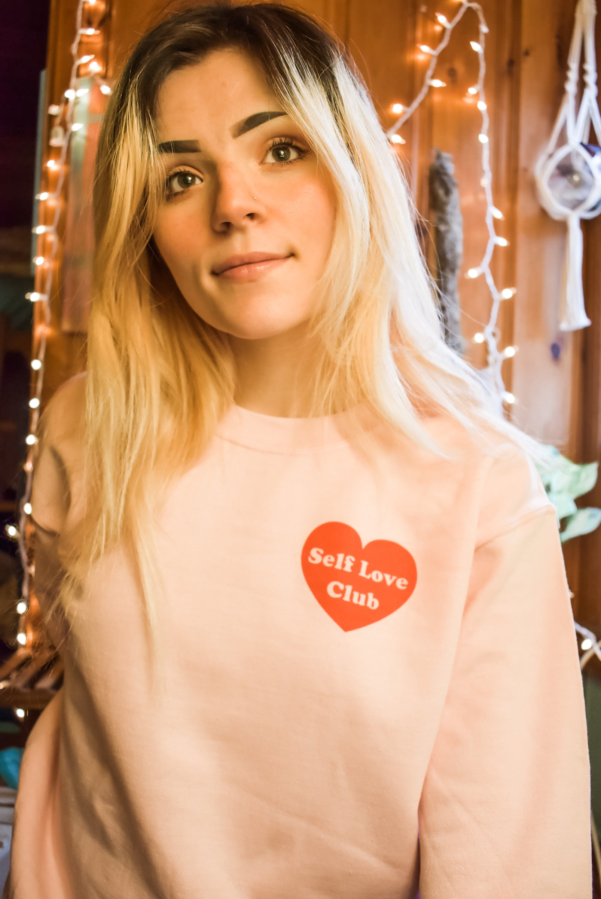 Self Love Club Crewneck Pullover