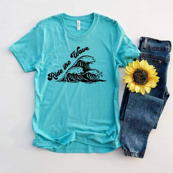 Ride The Wave Graphic Tee