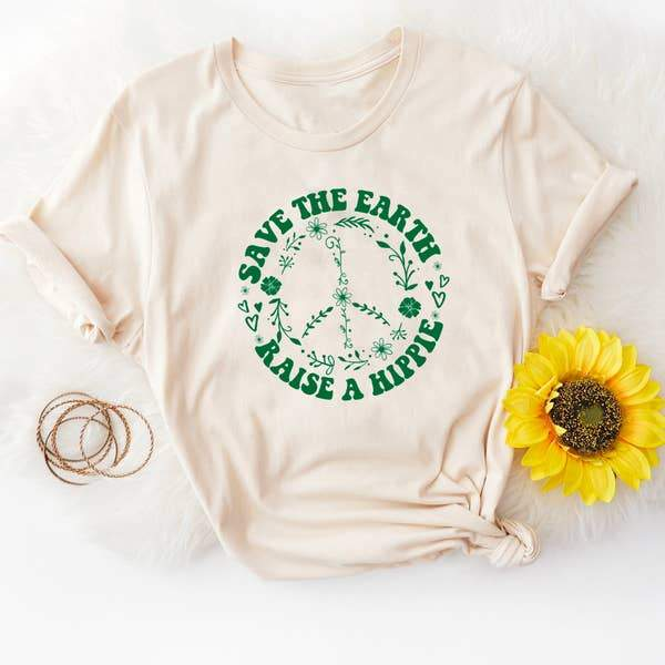 Raise a Hippie Graphic Tee