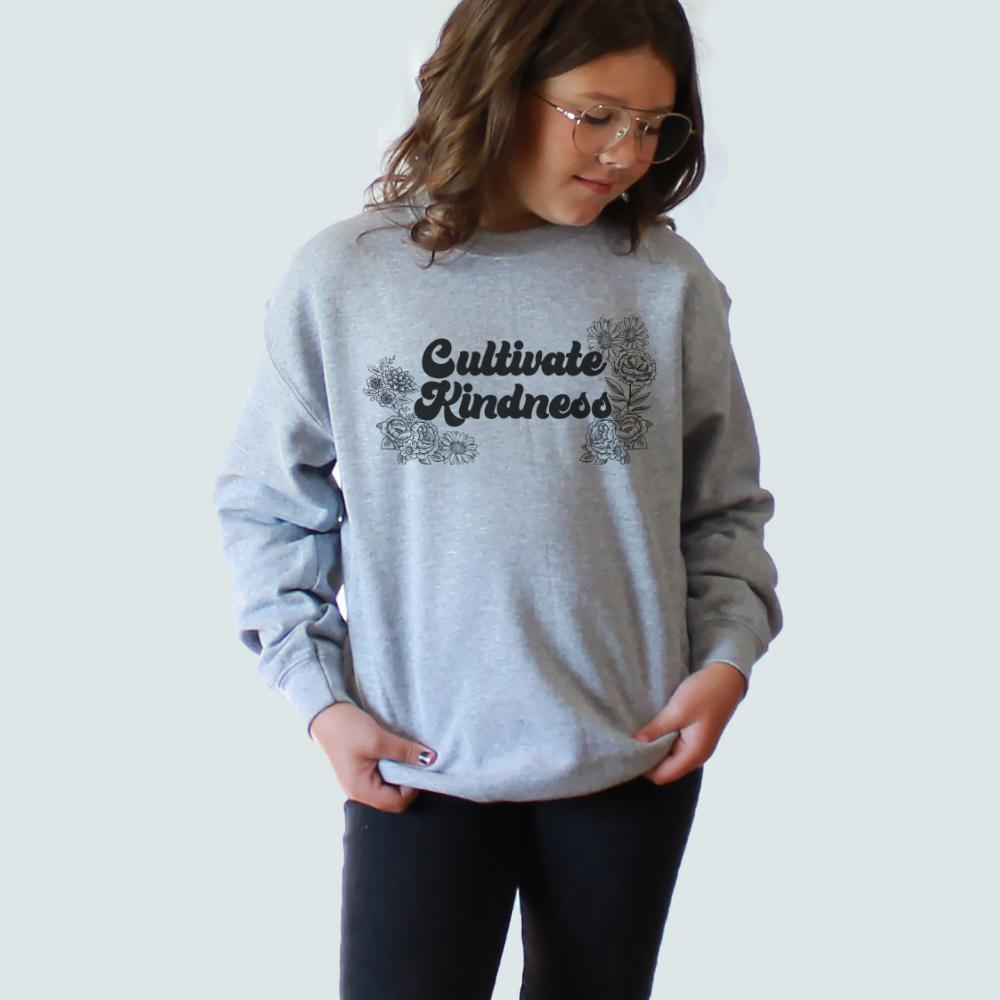 Cultivate Kindness Youth Pullover Crew