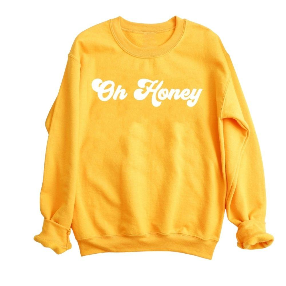 Oh Honey Crewneck Pullover