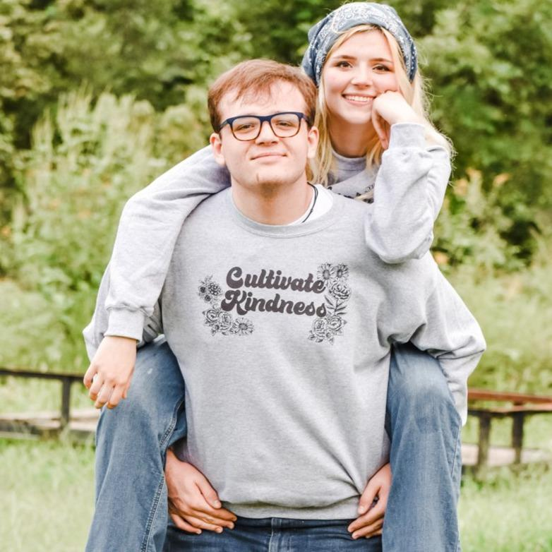 Cultivate Kindness Pullover Crew