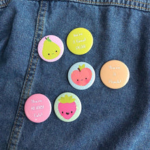 Load image into Gallery viewer, Fruity Friends Pin Set