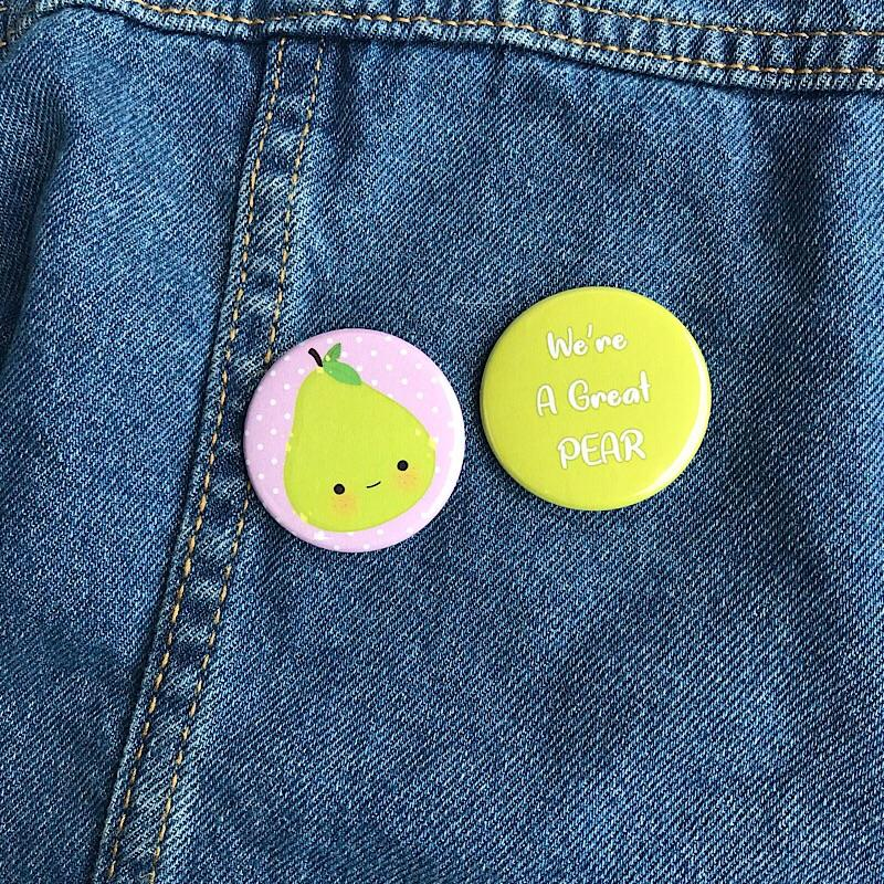 Fruity Friends Pin Set