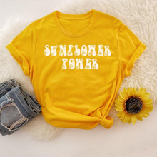 Load image into Gallery viewer, Sunflower Power Graphic Tee