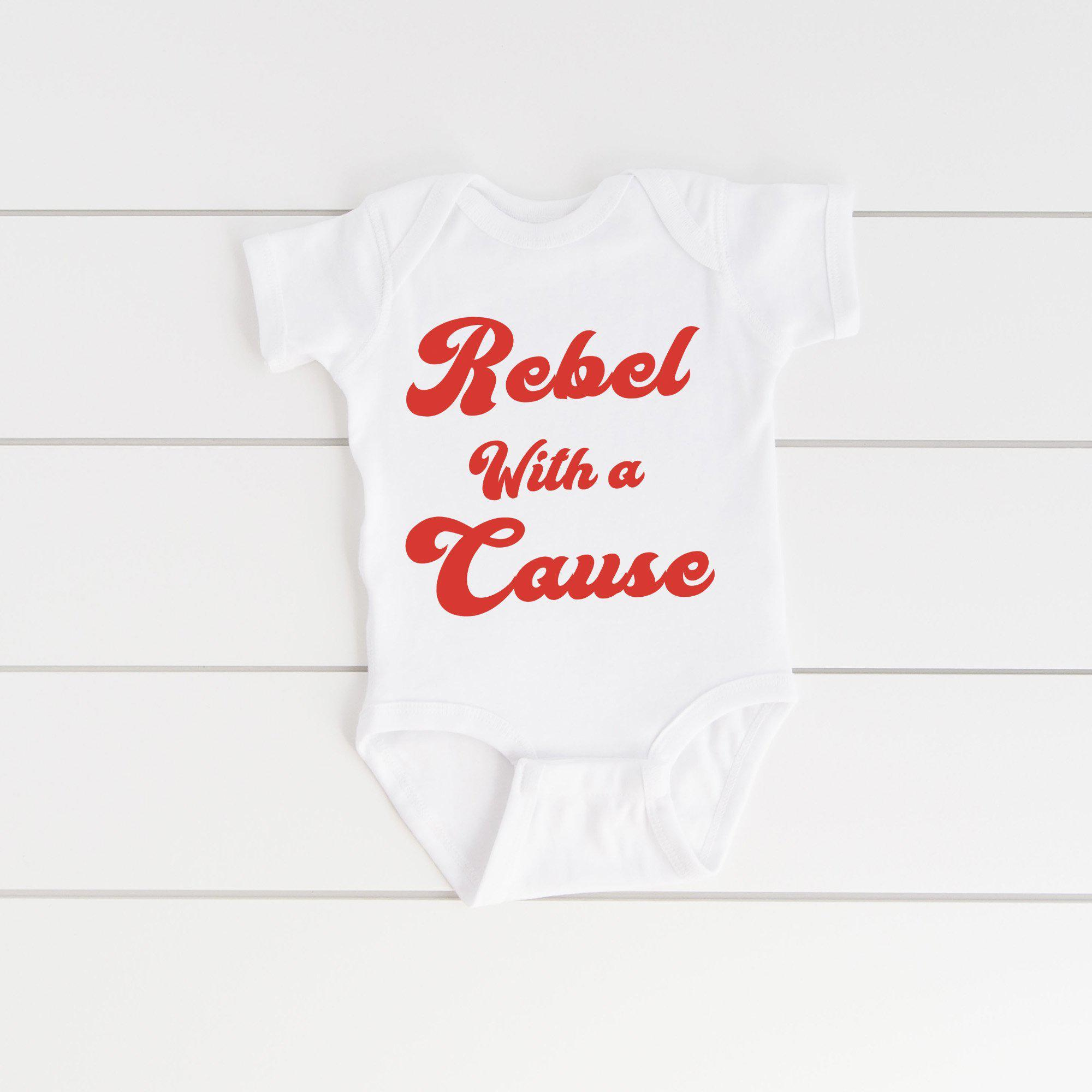 Rebel With a Cause - Onesie