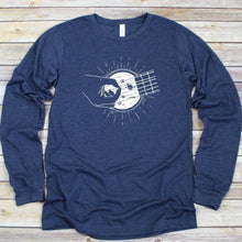 Load image into Gallery viewer, Space Guitar Long Sleeve Tee