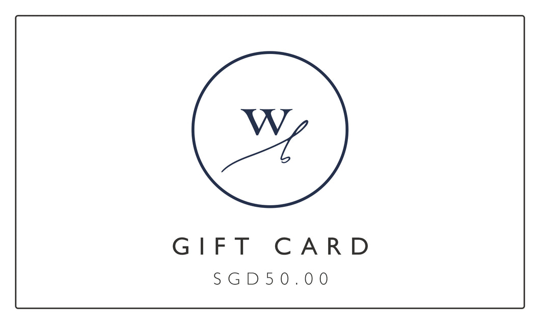 Wolf and Byrd Gift Card