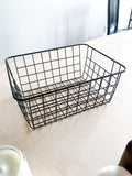 Laundry Room Wire Basket Bundle Set