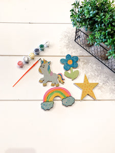 DIY Paint Kit Magical Magnet Kid's Kit Arts and Craft