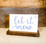 Seasonal Shelf Sitter; Fall Signs; Removable Shelf Sitter; Holiday Sign; Christmas; Halloween
