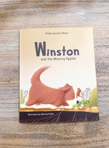 Winston and the Missing Apples Paperback Book