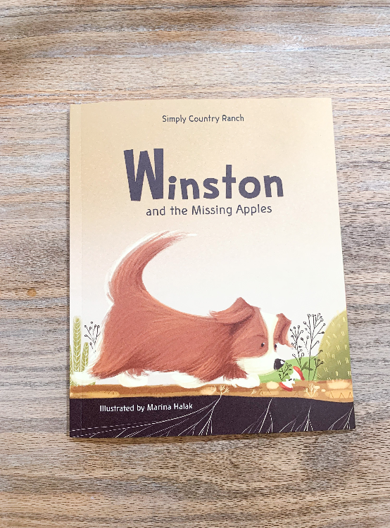 PREORDER: Winston and the Missing Apples Paperback Book
