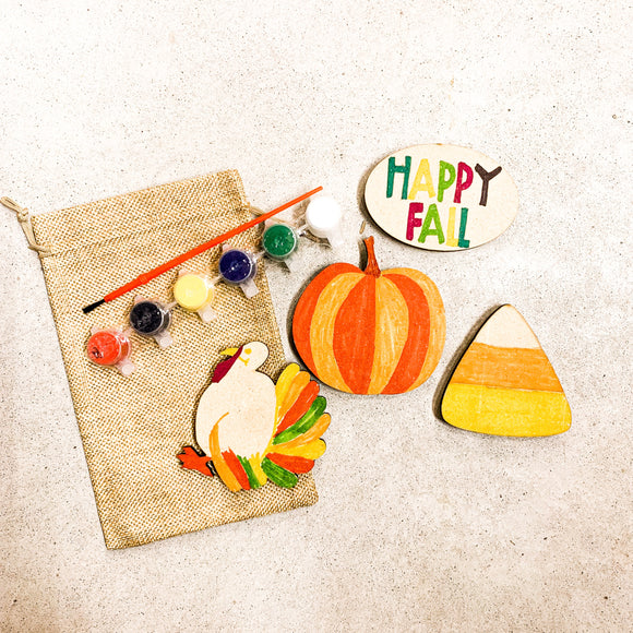 Fall Autumn DIY Kid Craft Kit
