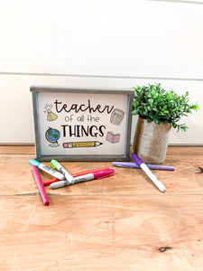 Teacher of All The Things