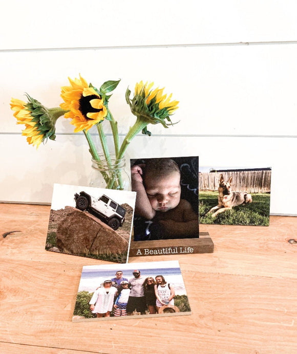 Personalized Photos Shelf Sitter