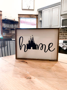 Disney Home Rustic Wood Sign