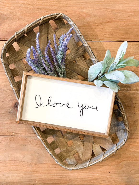 Your handwritten Family Note transferred to wood