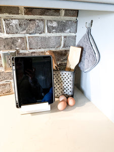 Recipe or Ipad stand; kitchen recipe holder