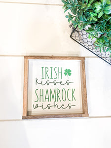Irish Kisses & Shamrock Wishes; St. Patrick's Day Decor