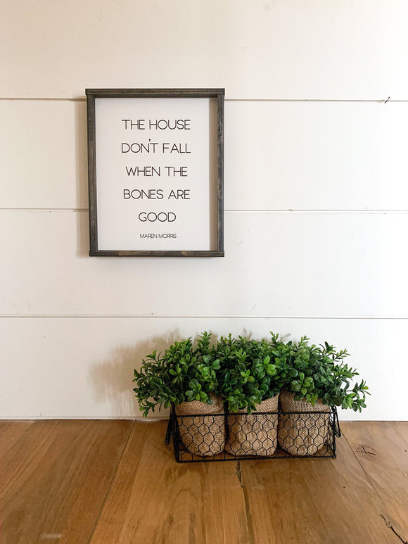 The House Don't Fall When the Bones are Good; Maren Morris; Country Song Lyrics