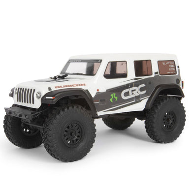 Axial AXI00002T1 SCX24 2019 Jeep Wrangler JLU CRC 1/24 4WD-RTR White