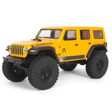 Axial AXI00002T2 SCX24 2019 Jeep Wrangler JLU CRC 1/24 4WD-RTR Yellow