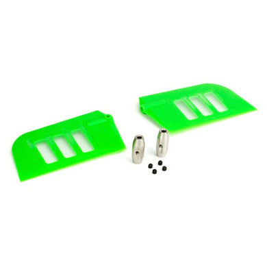 Blade BLH1828GR Green Fly-Bar/Flybar Paddle Set: Blade 500 3D