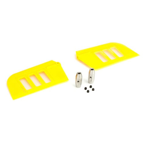 Blade BLH1828YE Yellow Fly-Bar/Flybar Paddle Set: Blade 500 3D