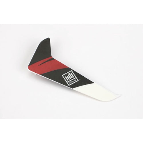 Blade BLH3120R Red Vertical Tail Fin / Rudder with Decal: Blade 120 SR