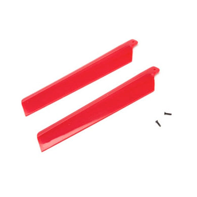 Blade BLH3216RE Main Rotor Blades (2) Red: mSR X
