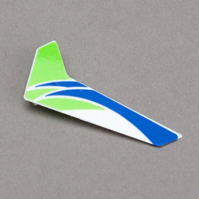 Blade BLH3520G Green Vertical Tail Fin with Decal: mCP X & mCPX2