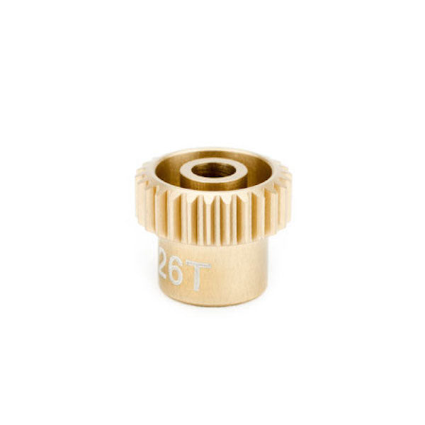 Calandra Racing CLN64026 Gold Standard Pinion Gear 64P/Pitch 26T/Tooth