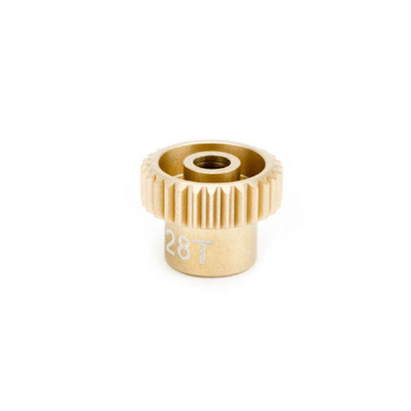 Calandra Racing CLN64028 Gold Standard Pinion Gear 64P/Pitch 28T/Tooth