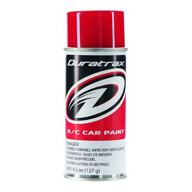 DuraTrax PC254 Polycarb RC Spray Paint Racing Red 4.5 oz