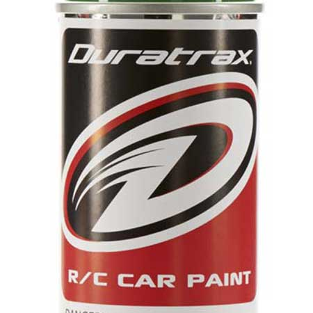 DuraTrax PC258 Polycarb RC Spray Paint Rally Green 4.5 oz