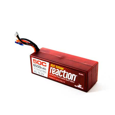 Dynamite DYNB3857EC Reaction LiPo Battery 15.2 HV 6500mAh 4S 50C Hardcase: EC5 Plug