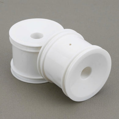 ECX ECX1030 White Dish Wheel Set (2): 1/10 Circuit