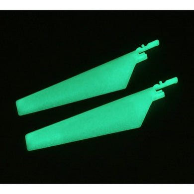 E-Flite EFLH2220GL Glow-in-the-Dark Lower Main Rotor Blades: mCX & Tandem Rescue