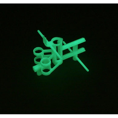 E-Flite EFLH2224GL Glow-in-the-Dark Main Frame Chassis Set: Blade mCX