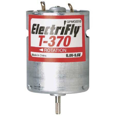 Great Planes GPMG0310 ElectriFly T-370 6.0-9.6V Ferrite Motor