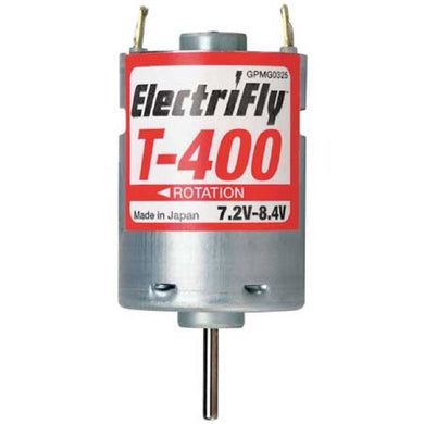 Great Planes GPMG0325 ElectriFly T-400 7.2-8.4V Ferrite Motor