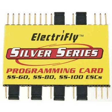 Great Planes GPMM1895 Silver Series Programming Card SS-60 SS-80