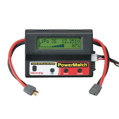 Great Planes GPMM3220 ElectriFly PowerMatch Power Meter Balancer