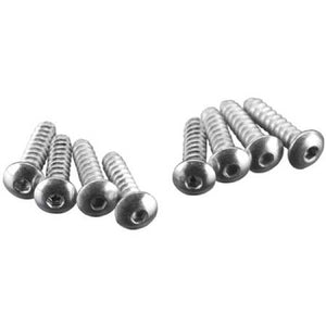 "Great Planes GPMQ3120 Button Head Sheet Metal Screws 2x3/8"" (8)"